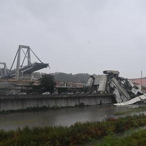 Падение моста в Генуе